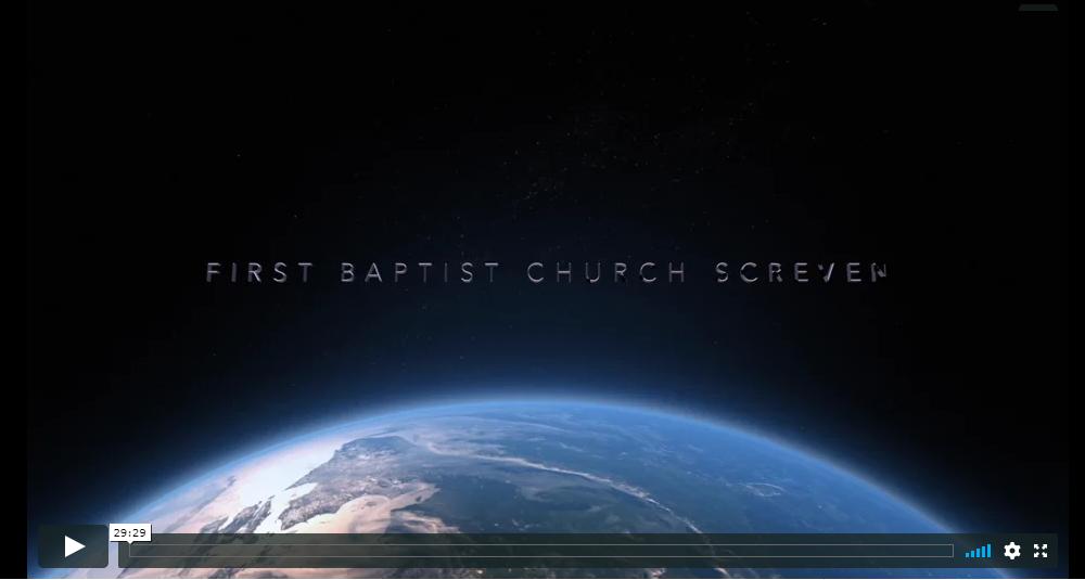 First Baptist Church Screven sermons