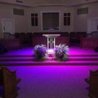 First Baptist Church Screven sanctuary