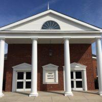 First Baptist Church Screven front of church building