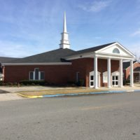 First Baptist Church Screven outside of building